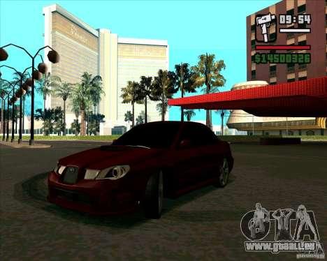 Subaru Impreza tuning für GTA San Andreas