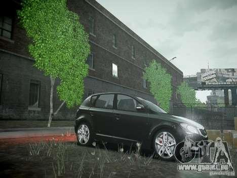 Kia Ceed für GTA 4 Innenansicht