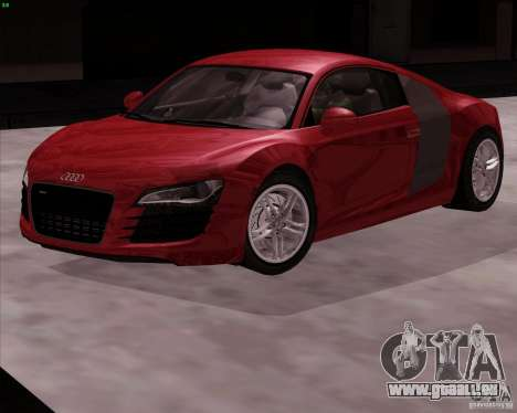 Audi R8 Production pour GTA San Andreas