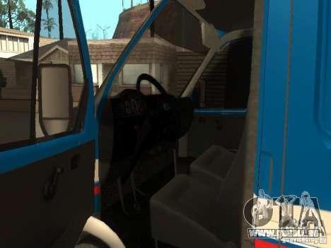 Courrier de Gazelle 2705 de Russie pour GTA San Andreas vue de droite