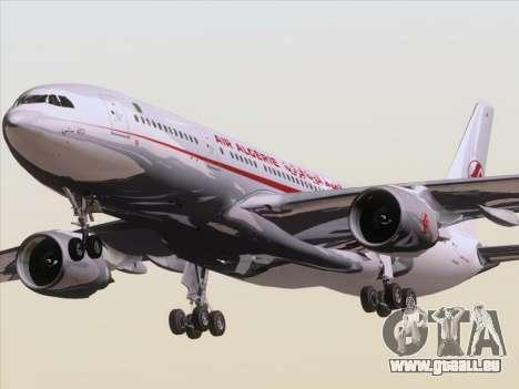 Airbus A330-203 Air Algerie für GTA San Andreas zurück linke Ansicht