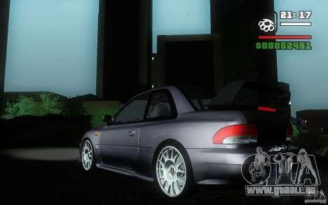 Subaru Impreza 22B für GTA San Andreas linke Ansicht