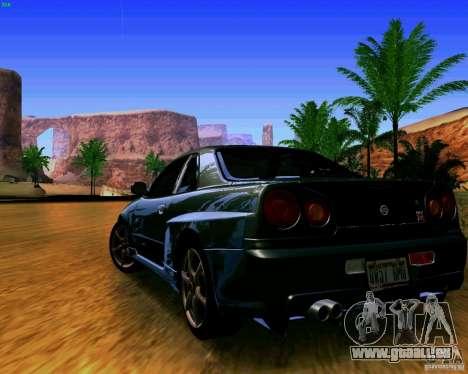 ENBSeries by S.T.A.L.K.E.R pour GTA San Andreas deuxième écran