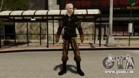 Geralt de Rivia v1 pour GTA 4