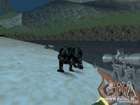 Unterwasser Monster für GTA San Andreas her Screenshot