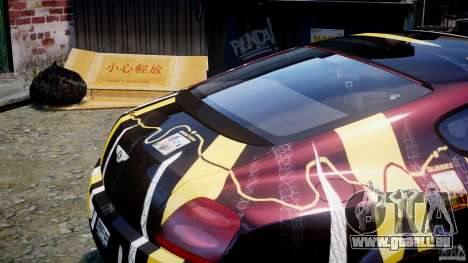 Bentley Continental SS 2010 Gumball 3000 [EPM] pour GTA 4 est une vue de dessous