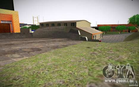 Service d'incendie de HD pour GTA San Andreas cinquième écran