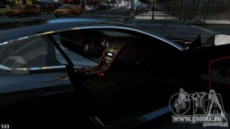 Aston Martin Virage 2012 v1.0 pour GTA 4 est un droit