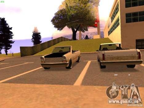 New Perennial pour GTA San Andreas laissé vue