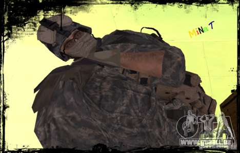 Fantassin États-Unis pour GTA San Andreas troisième écran