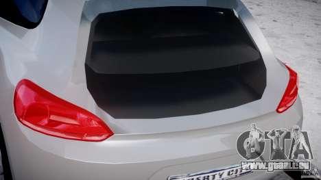 Volkswagen Scirocco III 2008 für GTA 4 Unteransicht