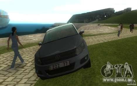 Volkswagen Tiguan 2012 pour GTA San Andreas vue intérieure