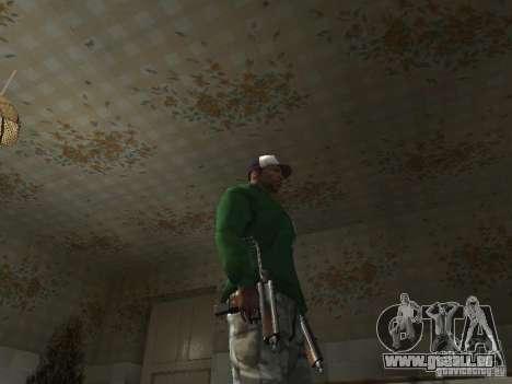 Pak intérieur armes V2 pour GTA San Andreas dixième écran