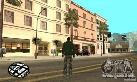 Empire of CJ v.3.8.0 für GTA San Andreas achten Screenshot