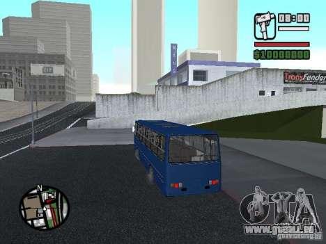 Ikarus 260.51 pour GTA San Andreas vue arrière