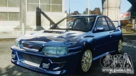 Subaru Impreza 22B 1998 pour GTA 4 est un droit
