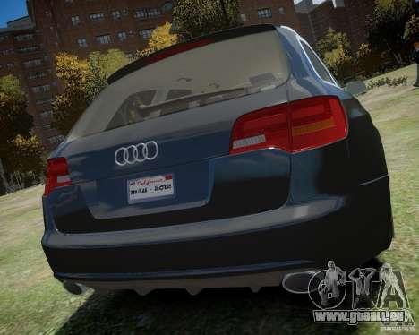 Audi A6 Avant Stanced pour GTA 4 est un droit