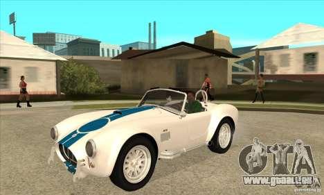 AC Shelby Cobra 427 1965 für GTA San Andreas