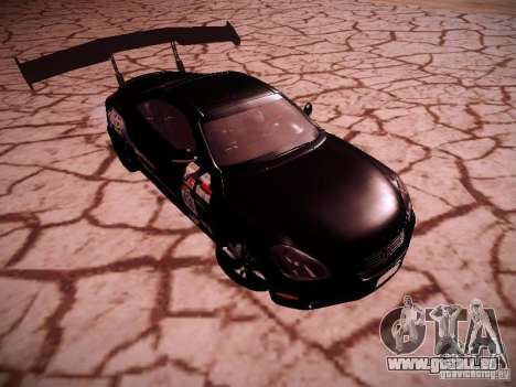 Lexus SC430 Daigo Saito für GTA San Andreas Rückansicht