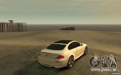 BMW M6 2010 v1.4 pour GTA 4 est un droit