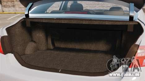 Toyota Camry Altise 2009 pour GTA 4 est un côté