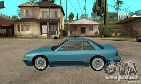 Nissan Silvia S13 1992 Club Ks pour GTA San Andreas laissé vue
