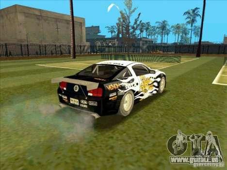 Ford Mustang Drag King from NFS Pro Street pour GTA San Andreas sur la vue arrière gauche