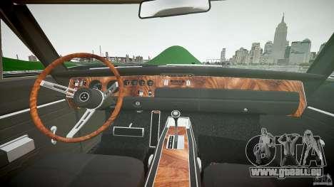 Dodge Charger RT 1969 tun v1.1 pour GTA 4 est un droit