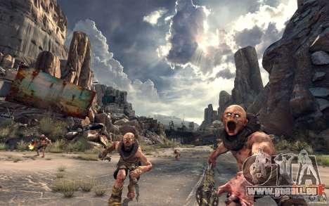 Menüs und laden Bildschirme RAGE für GTA San Andreas her Screenshot