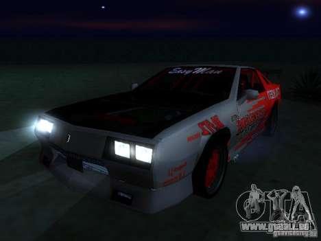 Buffalo DTM v2 pour GTA San Andreas vue de droite