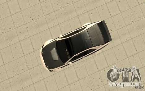 GTA IV Sultan RS FINAL pour GTA San Andreas vue de droite