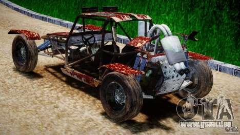 Buggy Avenger v1.2 pour GTA 4 Vue arrière de la gauche
