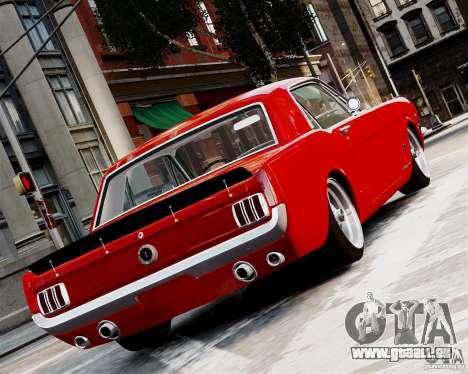 Ford Mustang GT MkI 1965 für GTA 4 rechte Ansicht