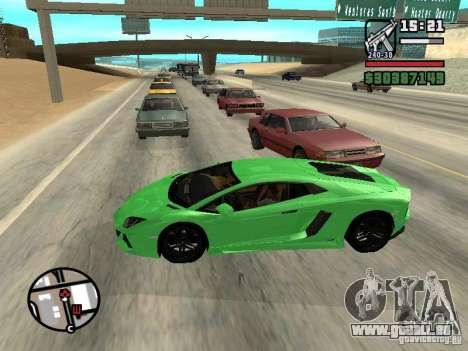 Automobile Traffic Fix v0.1 pour GTA San Andreas