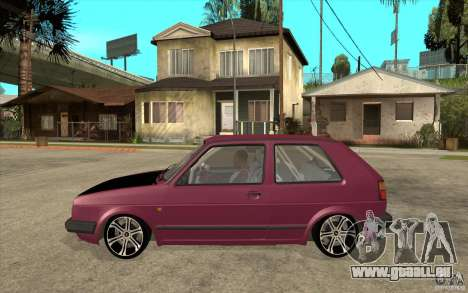 VW Golf 2 GTI pour GTA San Andreas laissé vue