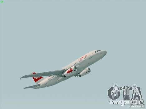 Airbus A319-112 Swiss International Air Lines für GTA San Andreas linke Ansicht