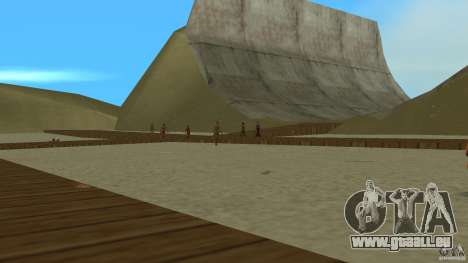 Vice City Beach-Park für GTA Vice City zweiten Screenshot