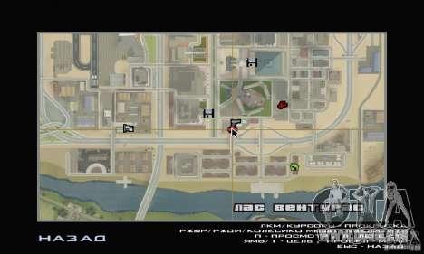 Station de remplissage TNK pour GTA San Andreas quatrième écran