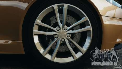 Aston Martin DBS Volante [Final] pour GTA 4 est une vue de dessous