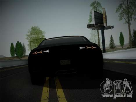 Lamborghini Estoque Concept 2008 pour GTA San Andreas vue de dessous