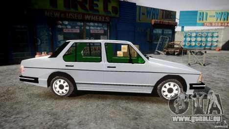Volkswagen Jetta 1981 für GTA 4 Rückansicht