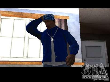 Piru Street Crips pour GTA San Andreas troisième écran