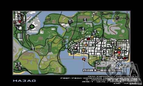 Welcome to AKINA Beta3 pour GTA San Andreas septième écran