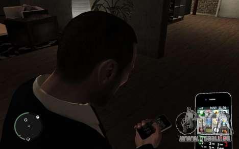 Iphone 4G pour GTA 4