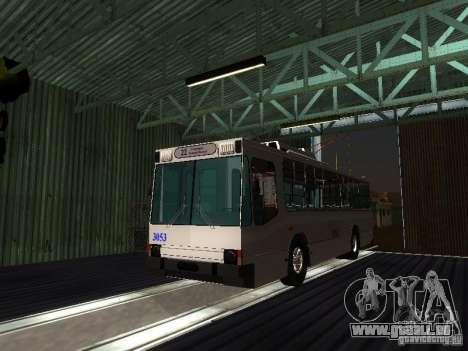 Ferouk T2 pour GTA San Andreas vue arrière