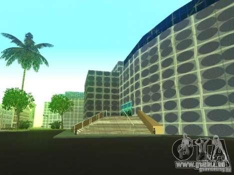 Immeuble neuf dans LS pour GTA San Andreas cinquième écran