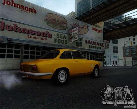 Alfa Romeo Giulia Sprint 1965 pour GTA San Andreas vue de droite