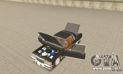 Cadillac Coupe DeVille 1985 pour GTA San Andreas vue arrière