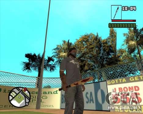 Bits sanglantes pour GTA San Andreas troisième écran