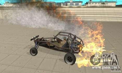 GTA FEATURE BURNOUT FIX 1.2 pour GTA San Andreas deuxième écran